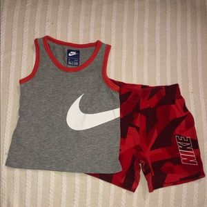 Nike shorts matching outfit